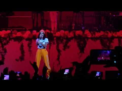 Halsey - Bad at Love 4K Live @ Stadium 22.08.17 Moscow