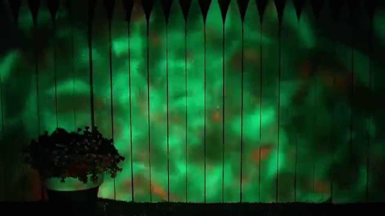 Fire Amp Ice Led Toxic Green Spot Light Spirit Halloween
