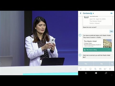 Watch how Cortana, Bots and Bing are powering the latest version of Skype (CNET News)