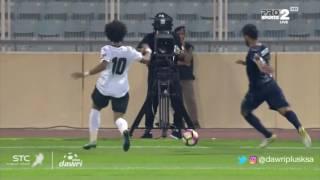 هدف الأهلي الثانى ضد هجر (عمر السومة) في ربع نهائي كأس ولي العهد
