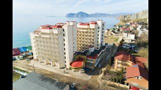 Hotel Dinastiya 3 отель Династия Орджоникидзе Крым обзор отеля пляж территория