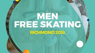 Tomoki Hiwatashi (USA) | Men Free Skating | Richmond 2018