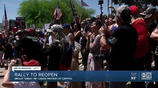 Rally to reopen Arizona's economy