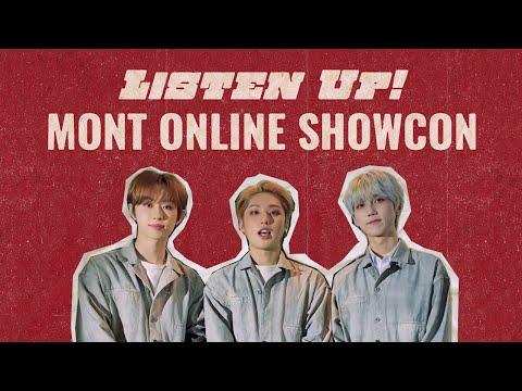 M.O.N.T Listen Up SHOW-CON 인사 영상