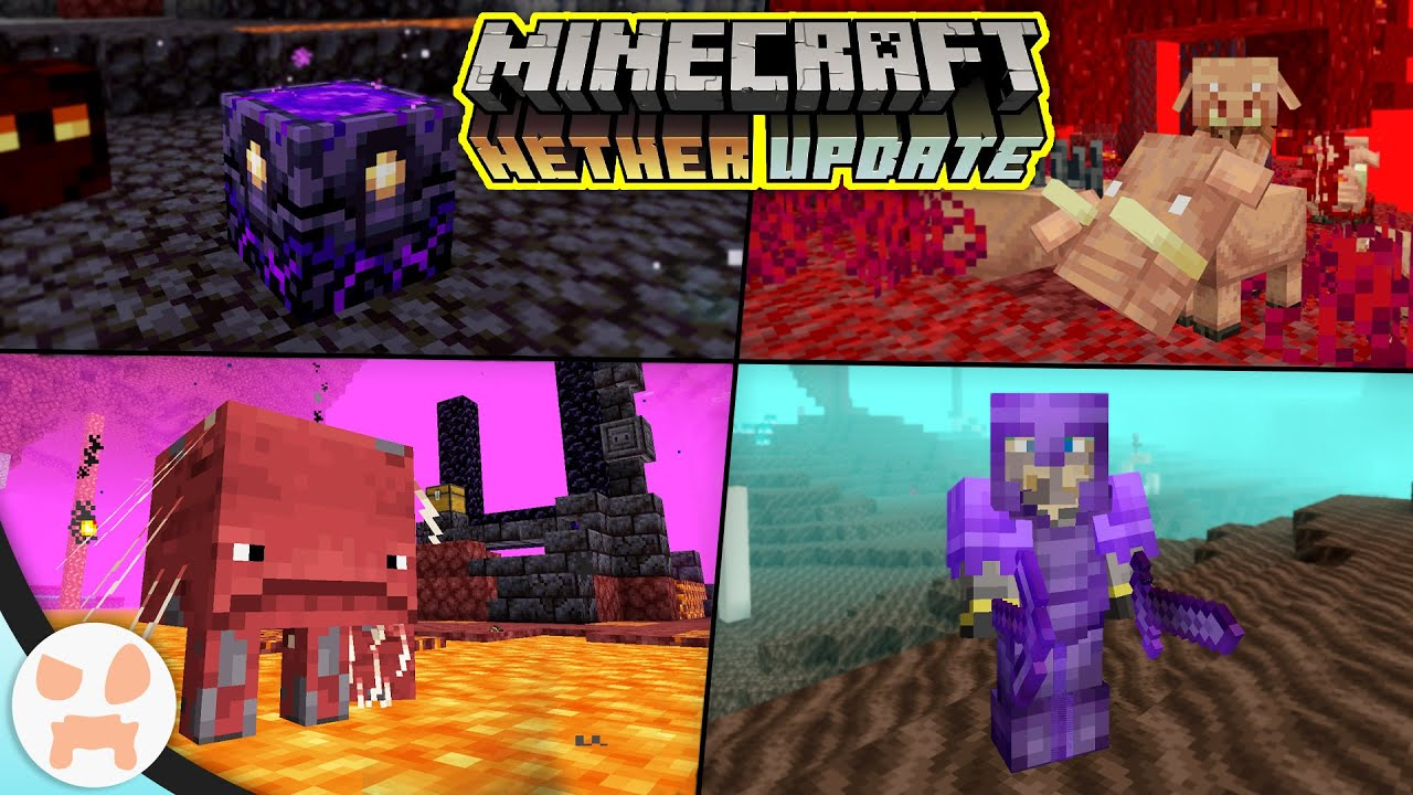Download EVERYTHING in the Minecraft 1.16 Nether Update!