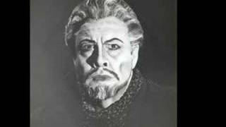 "George London as ""Der Fliegende Holländer""  Part 1"