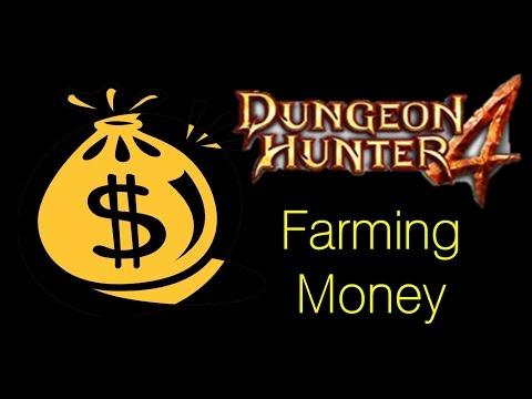 Dungeon Hunter 4 - Farming Money / Getting Money