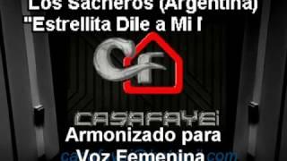 Los Sacheros - Estrellita Dile A Mi Madre (Karaoke Casafayei)DEMO femenina
