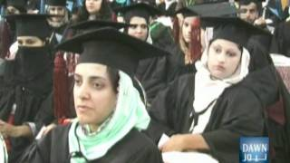 Pakistan - Mansehra Package about fifth convocation Hazara University - DAWN TV.mpg