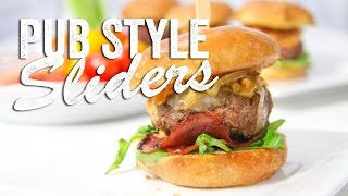 Pub Style Sliders Recipe (Game Day Bites): Bits & Pieces - Season 2, Ep. 8