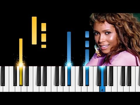 Tamia - Officially Missing You - EASY Piano Tutorial