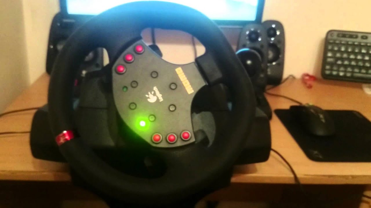 Logitech momo steering wheel overview + driver youtube.