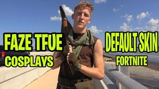 Faze Tfue cosplays default skin for Rift Raiders | Fortnite Funny moments and more | Fortnite Ninja