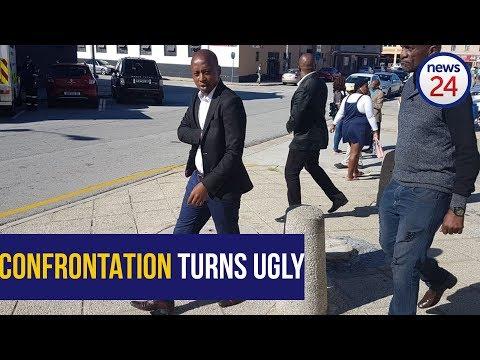 WATCH: Andile Lungisa smashing a jug over Rano Kayser's head