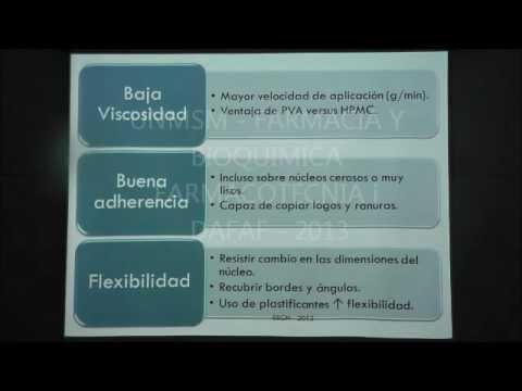 Clase de Recubrimiento Curso de Farmacotecnia 2013