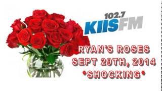 Ryan's Roses - KIISFM - 29th Sept, 2014. Veronica + Ernie