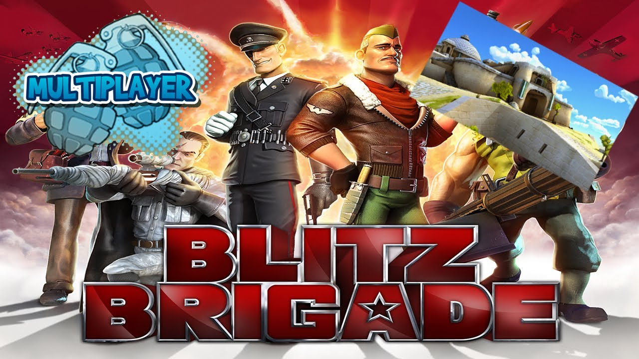 Blitz Brigade - Multiplayer - Quickplay - Malta Fort - HD Gameplay Trailer