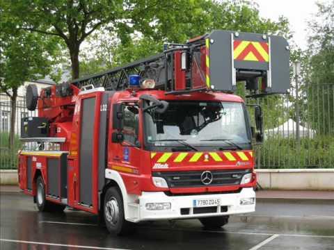 V hicule de pompiers youtube - Image camion pompier ...