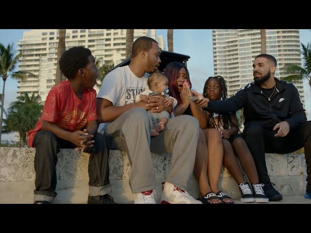 Drake Donates $1M In Groceries, Cars, Cash and More For 'God's Plan' Video