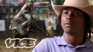 Being a Black Bull Rider in a Majority White Sport thumbnail