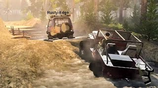 Spin Tires NEW Off-Road CHALLENGE Map Online Multiplayer