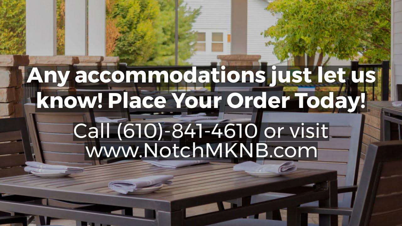 Notch Modern Kitchen And Bar Inspired Menus Youtube