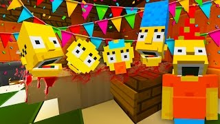Bart Simpson Eats His Family | The Simpsons Minecraft Xbox [44]
