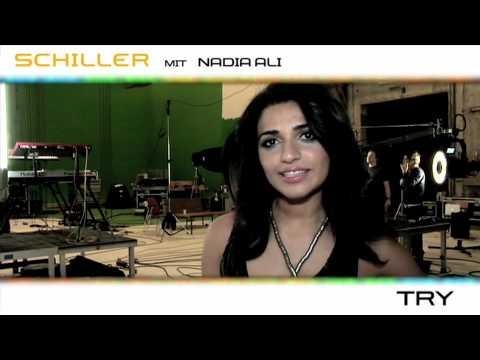 """Making of the Schiller & Nadia Ali music video """"Try"""""""