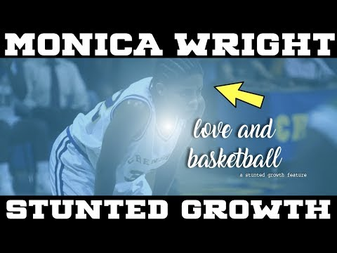 HEART OF A LION Monica Wright (Love And Basketball) STUNTED GROWTH