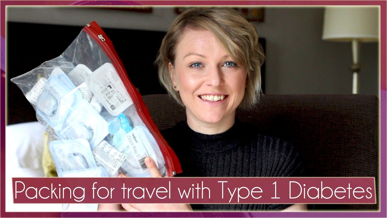 Packing For Travel With Type 1 Diabetes Youtube