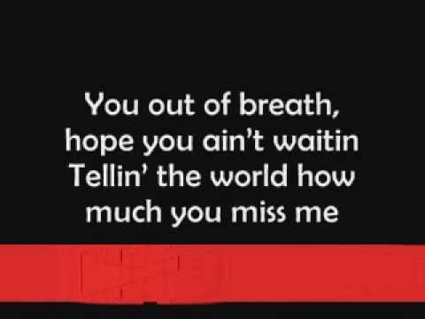 Mariah Carey - Obsessed on screen Lyrics