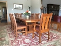 Charming Mission Style Dining Room Chairs Design Ideas