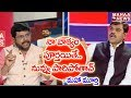 Mahaa Murthy Satire Saying Vishnu Vardhan Reddy Will Run Away From Live Debate |#PrimeTimeWithMurthy