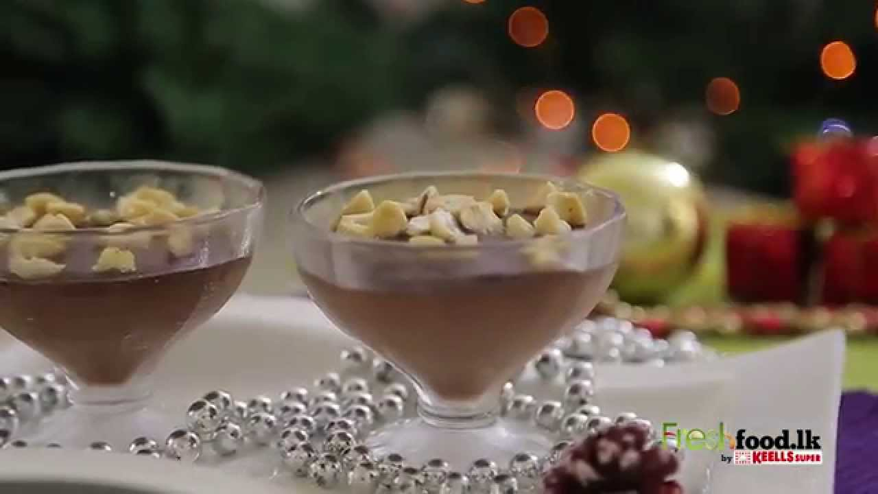 Chocolate Pudding Sinhala - YouTube
