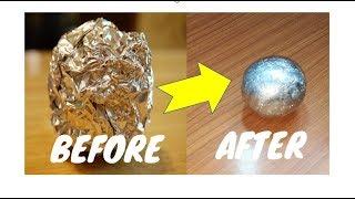 DIY Japanese Aluminum Foil Ball Challenge