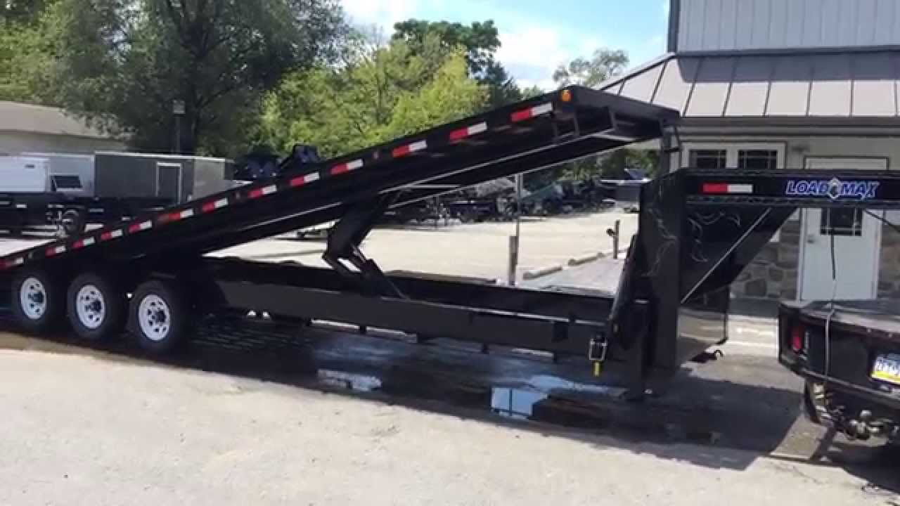 Load Trail 102x32 Tilt Deckover Equipment Trailer 21000