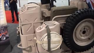 SEMA Las Vegas - WWII British Army Desert Patrol Jeep