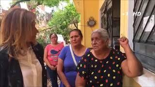 Adela Micha está en Juchitán, Oaxaca, en la zona del desastre.2/3