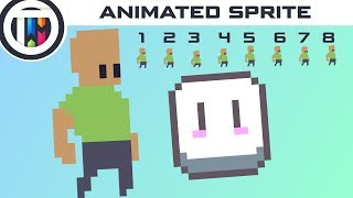 aseprite tutorial how to create an animated game sprite