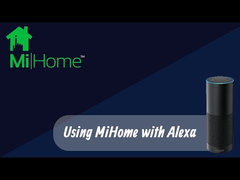 MiHome With Alexa