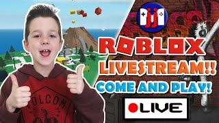 Roblox GAMES AND MORE!! Come join in the fun on this livestream!