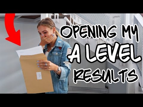 A-LEVEL RESULTS 2018! REACTING ON CAMERA - Did I Get In To Uni?!?!