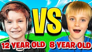 12 YEAR OLD vs. 8 YEAR OLD (Fortnite 1v1)