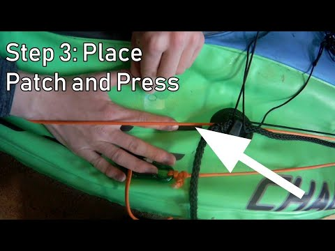 How To Fix A Punctured Inflatable Kayak