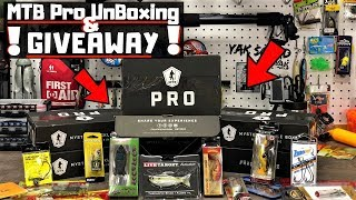 MTB Pro Box Giveaway! / FREE Tackle / September UnBoxing