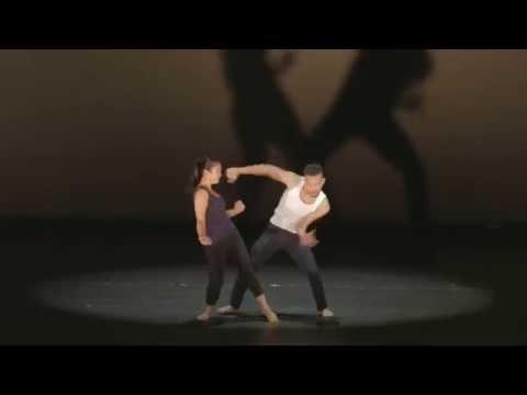 Duet from Ketuk Tilu, January Low and Raziman Sarbini. Choreography: Gerard Mosterd.