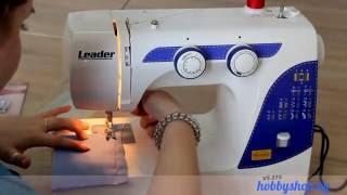 швейная машина, оверлок Leader VS 775 обзор