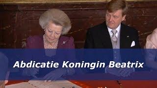 Abdicatie Koningin Beatrix (2013)