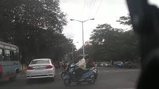 Traffic police cursing two wheeler riders