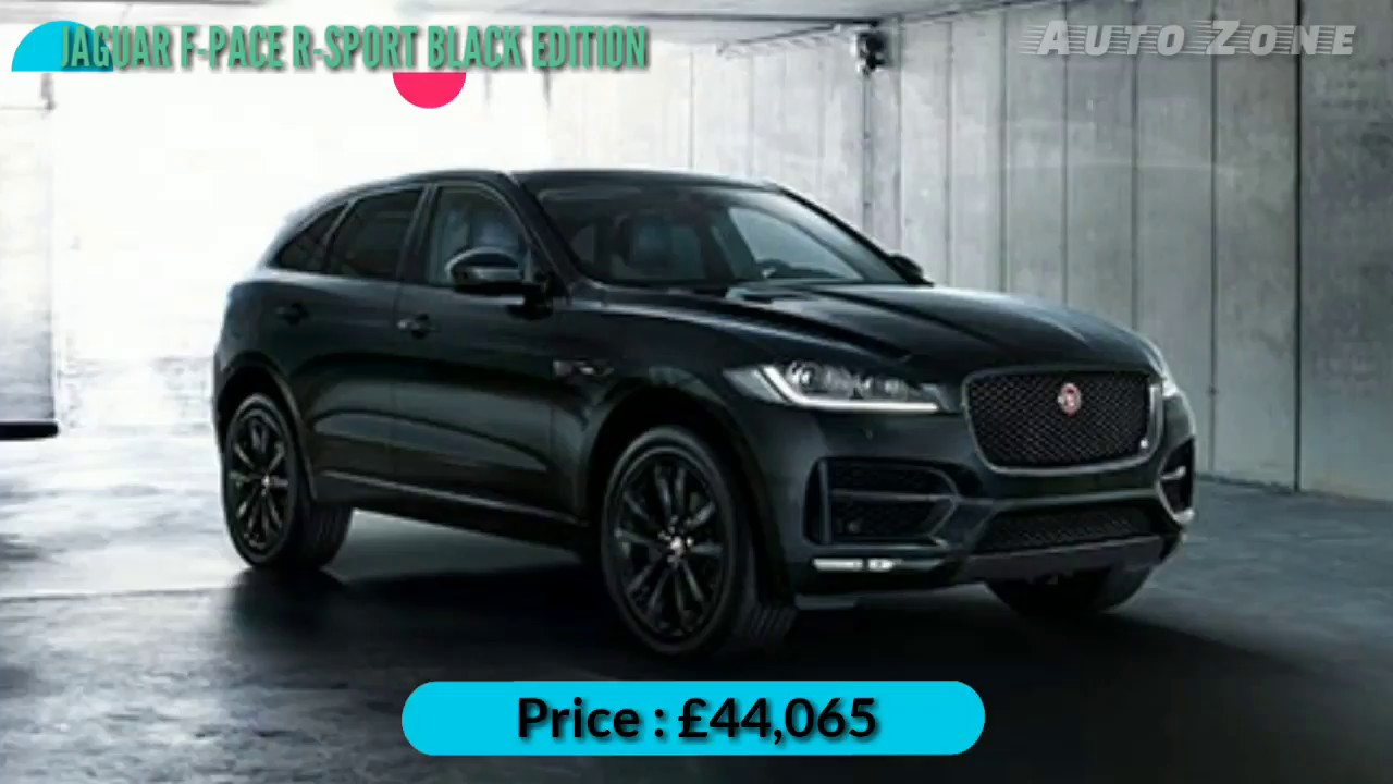 New Jaguar F Pace R Sport Black Edition Luxury Suv Car 2018 Youtube